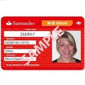 Receive a free 4 Year 16-25 Railcard when opening Santander 123 Student Current Bank Account @ Santander