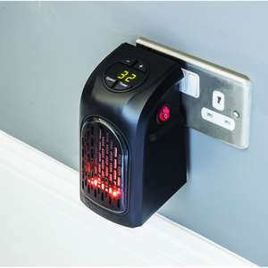 JML Handy Heater, clearance price £10.00 at Wilkinson's in Watford. More than one available, possibly available at other branches of Wilko.