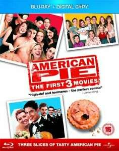 American Pie 1-3 Box Set Blu-ray used £3.47 delivered @ Worldofbooks08 ebay