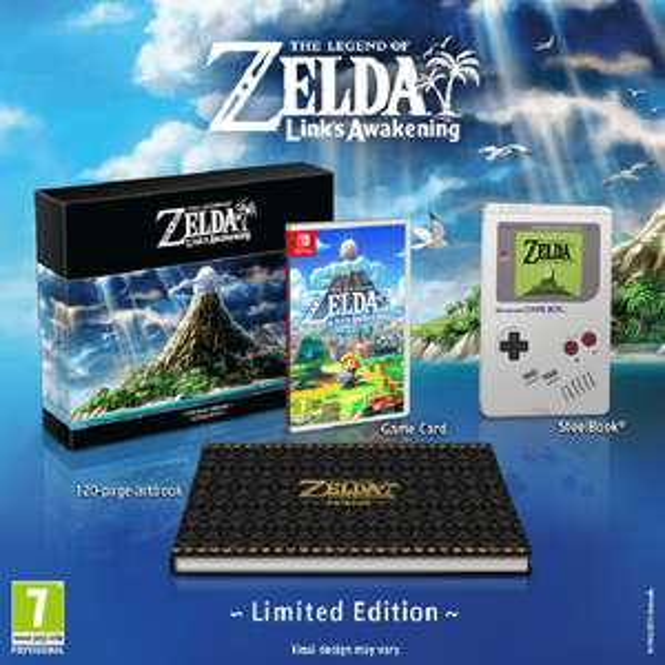 The Legend of Zelda: Link's Awakening Limited Edition (Pre-Order) - Nintendo Switch - £79.85 @ ShopTo