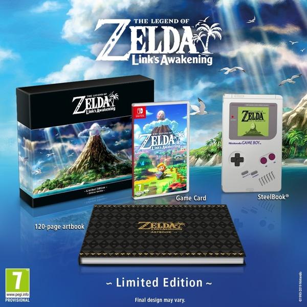 The Legend of Zelda: Link's Awakening Limited Edition - £69.99 @ Smyths Toys