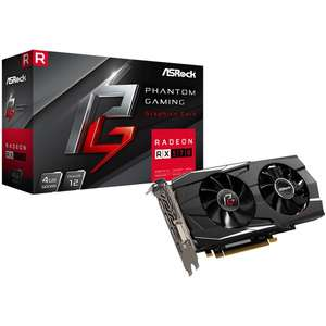 Asrock Radeon RX 570 Gaming Dual 4GB GDDR5 Graphics Card £119.89 at Overclockers(2 free games)