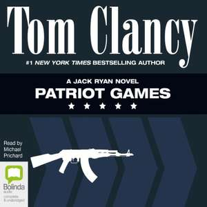 Tom Clancy Patriot Games audiobook £2.99 from Audible