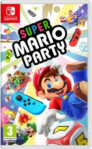 Super Mario Party for Nintendo Switch physical copy £39.85 with FREE Royal Mail First Class delivery @ ShopTo