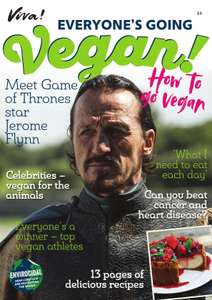 FREE Vegan Magazine VIVA! - contains recipes