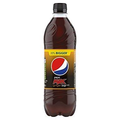 Pepsi Max Ginger 600Ml Bottle Found Instore @ Poundstretcher  £0.39