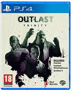 Outlast Trinity (PS4)  For £7.85 Delivered @ Base