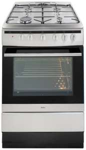 Amica 608GG5MSXX 60cm Single Oven Dual Fuel Cooker - S/Steel @ Argos £259 Delivered Free