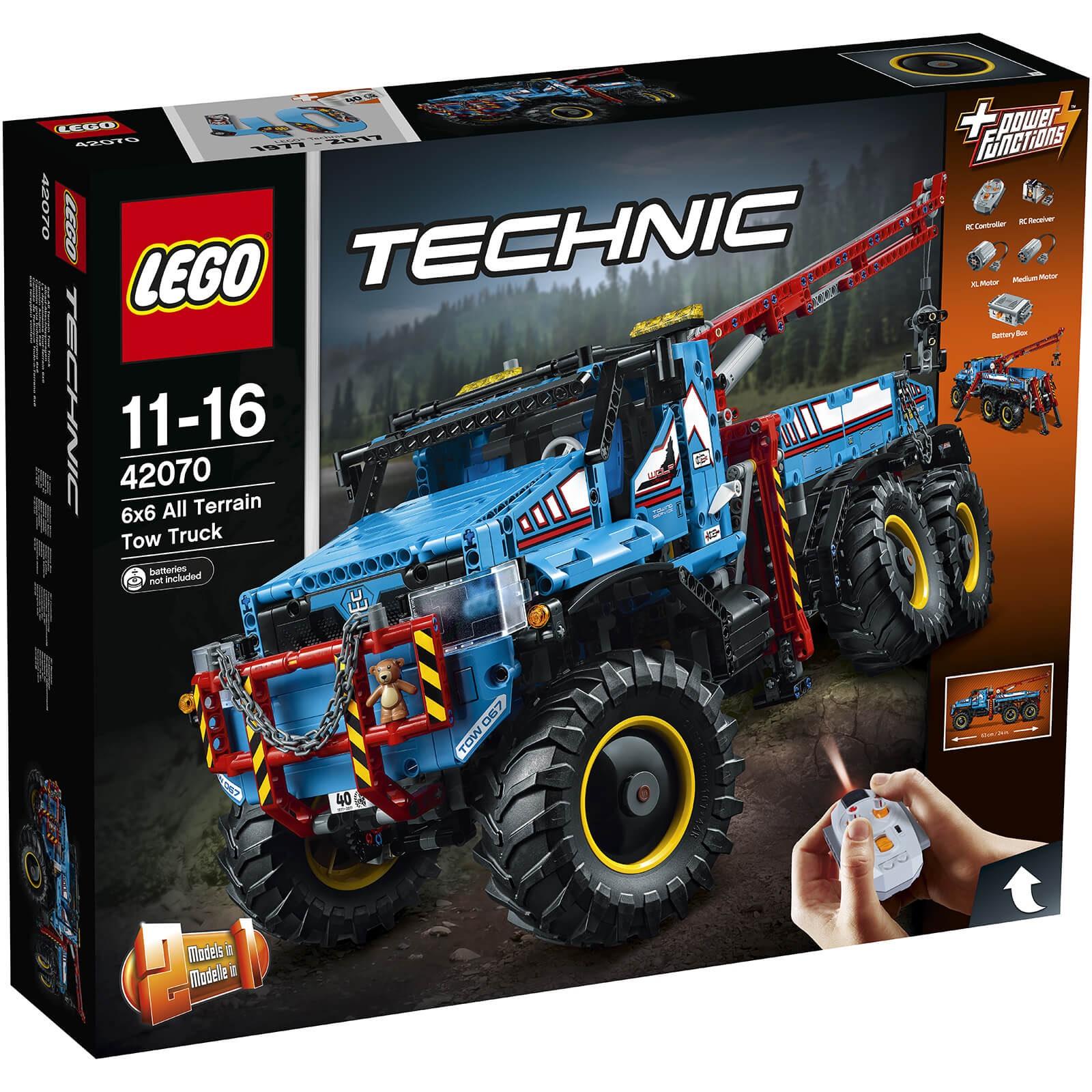 20% off selected Lego Technic @ IWOOT