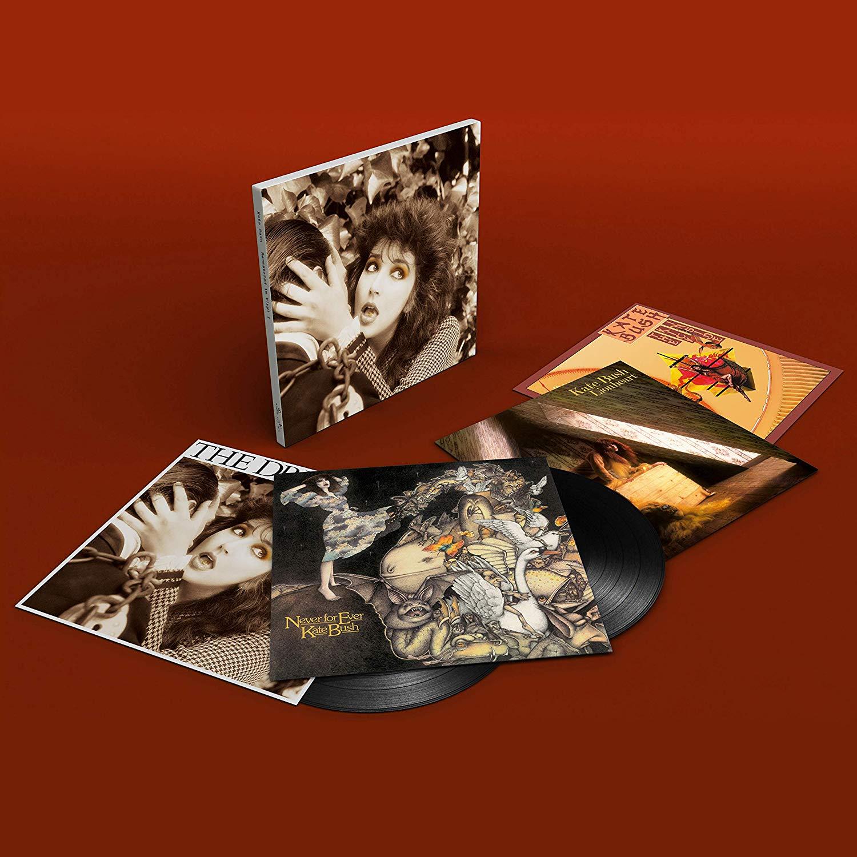Kate Bush - Remastered In Vinyl I, II & IV boxsets reduced - £37.25 @ Amazon