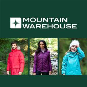 Mountain Warehouse up to 70% off Sale + Extra 20% Off with code