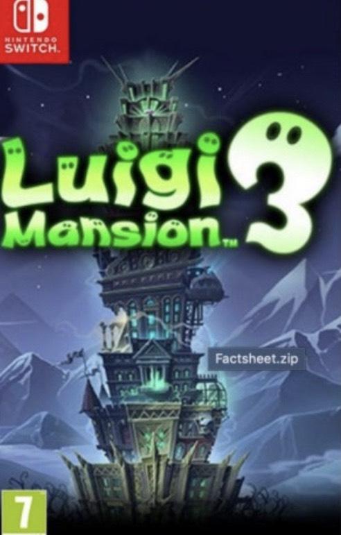 Luigi's mansion 3 (switch) £37.95 @ thegamecollection
