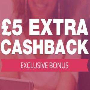 TopCashBack £5 bonus when you spend £10 or more on 1 transaction (invite only)