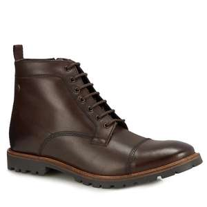 Base London-Brown leather 'Brigade' lace up boots - £21.60 sizes 8 and 9 only @ Debenhams (10% code from Vouchercodes) Free Delivery