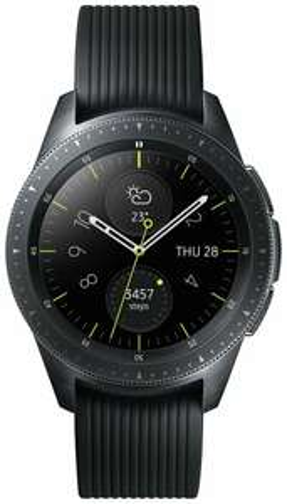 Samsung Galaxy 42mm 4GB WiFi Bluetooth NFC Smart Watch - Midnight Black - £161.99 @ eBay Argos refurbished