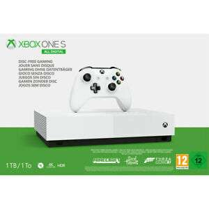 Xbox One S All-Digital Edition 1TB with Forza Horizon 3, Sea Of Thieves - £152.10 at AO eBay