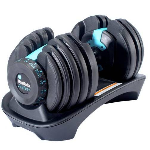 Men's Health Adjustable Dumbbell 24kg £107.99  /  Adjustable Dumbbell 40kg £143.99 with code @ eBay / Argos