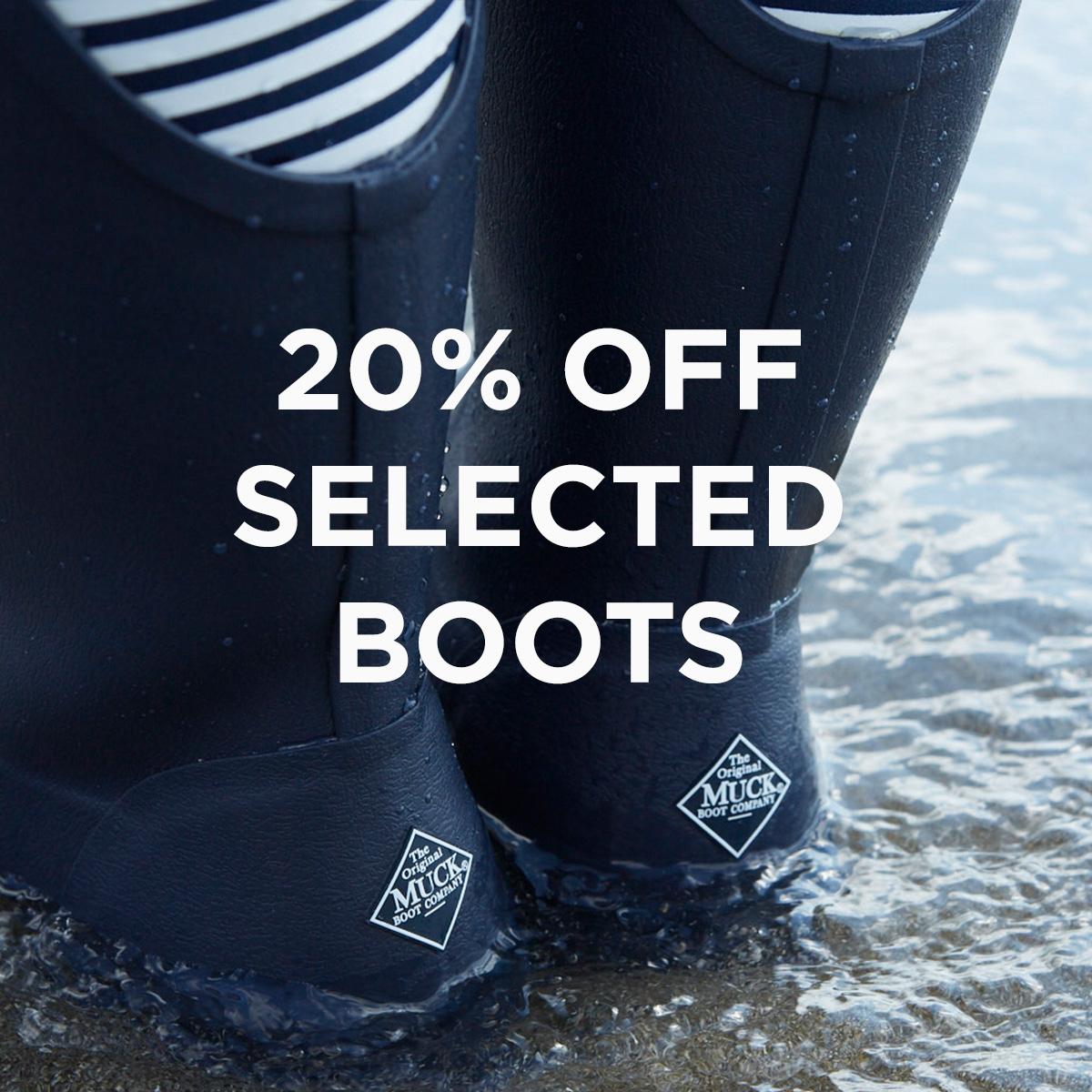 20% off Muck Boot Wellington Boots