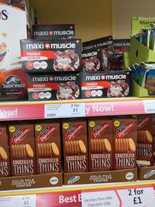 Maxi muscle protein bars 2 for £1 at Heron Foods