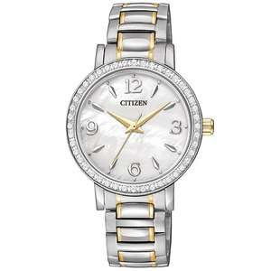 Citizen Ladies' Two-Tone Quartz Swarovski Bracelet Watch + Possible Quidco / TCB - £59.99 @ H Samuel