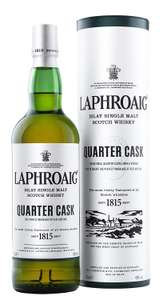 Laphroig Quarter Cask Single Malt Scotch Whisky - £27.99 @ Amazon