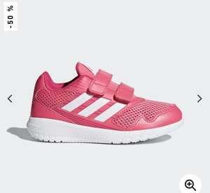 Girls Adidas running trainers £12.47 or £8.73 with 30% off unidays code at Adidas
