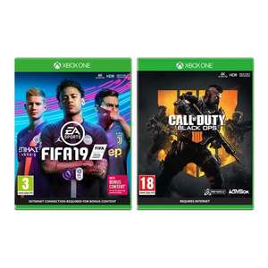 FIFA 19 & Call of Duty: Black Ops 4 - Xbox One - £25 @ AO