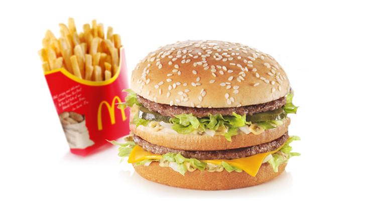 Big Mac & Medium Fries £1.99 @ McDonalds (initial purchase required)