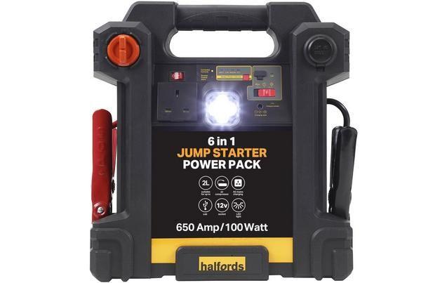 Halfords 6-in-1 Jump Starter Power Pack - £54 @ Halfords Instore