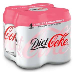 Diet Coke Twisted Strawberry 89p @ Heron Foods