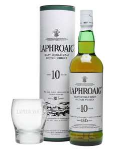 Laphroaig Islay Single Malt 10Yr Whisky 70Cl - £28 at Tesco