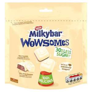 2 bags of Milkybar Wowsomes £1 @ Heron Foods