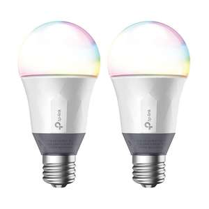 TP-Link Kasa LB130 - Two LED Colour Changing Smart Bulbs /  E26 Base + B22 Adapter £44.99 delivered @ Box - 2 years warranty