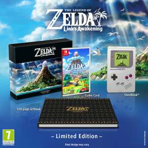 The Legend of Zelda: Link's Awakening Limited Edition (Pre-order) - Nintendo Switch - £69.99 @ GAME
