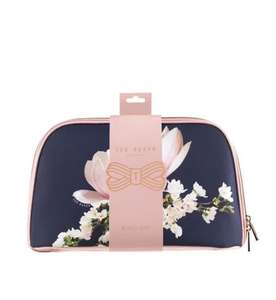 Ted Baker choice of Two 1/2 price LARGE cosmetics / wash bags £6.75 & £7.50 C&C @ Boots