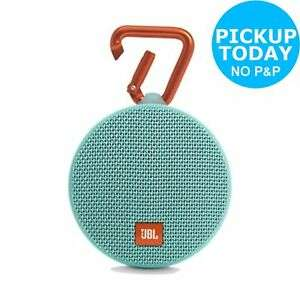 JBL Clip 2 Waterproof Portable Speaker - Teal for 99p Free Find stock, Pay and Collect @ Ebay/Argos(Instore)