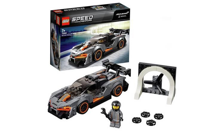 LEGO Speed Champions McLaren Senna Model Toy Car - 75892 - £9.99 @ Argos (Various Lego Sets Discounted!)