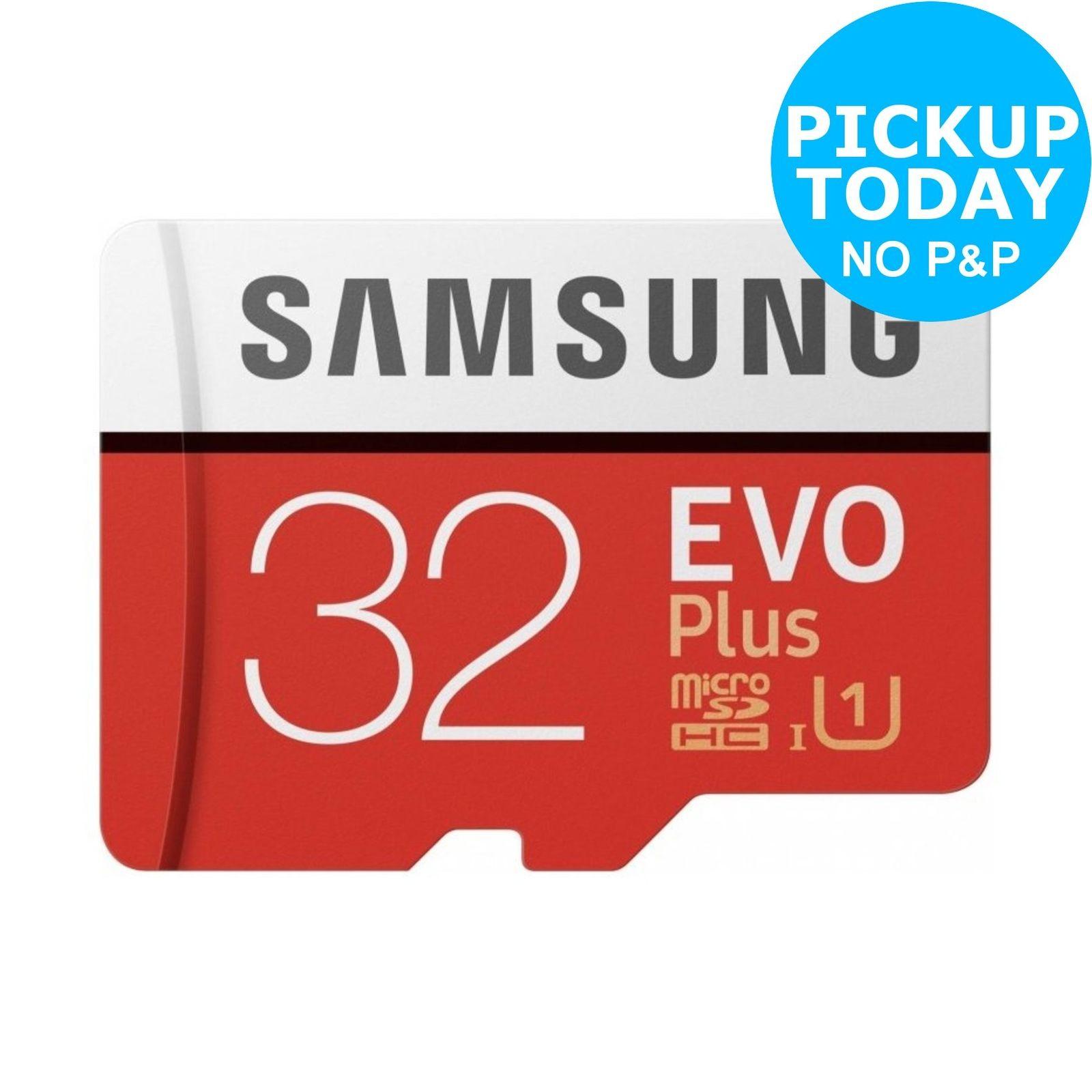 Samsung Evo Plus 80MBs SDHC 32GB Memory Card 99p @ Argos eBay (Very low Stock)