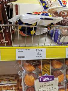 Brioche Pasquier Pitch Chocolate Filled Brioche 6 per pack, 60p each or 2 for £1 @ Heron Foods