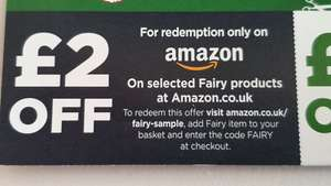£2.00 off Fairy Dishwasher Tablets at Amazon