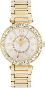 Juicy Couture Ladies' Gold T Bar Stone Set Bracelet Easy Read Analogue Watch £13.99 @ Argos eBay