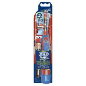 Oral-B Stages Power Kids Battery Toothbrush featuring Disney Cars or Princess £7 @ Asda
