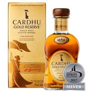 Cardhu Gold Reserve Single Malt Scotch Whisky - £26 @ Morrisons