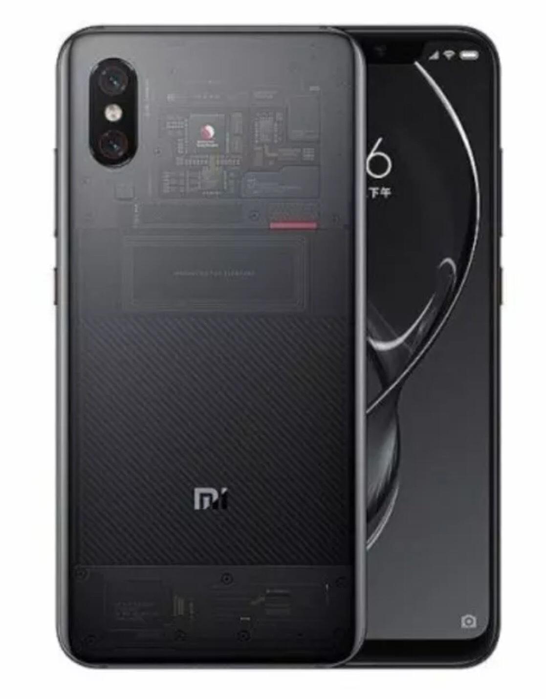 "Xiaomi Mi 8 Pro 6.21"" AMOLED 8GB 128GB AI Dual Camera - Transparent Titanium £276 with code @ Ebuyer Ebay"