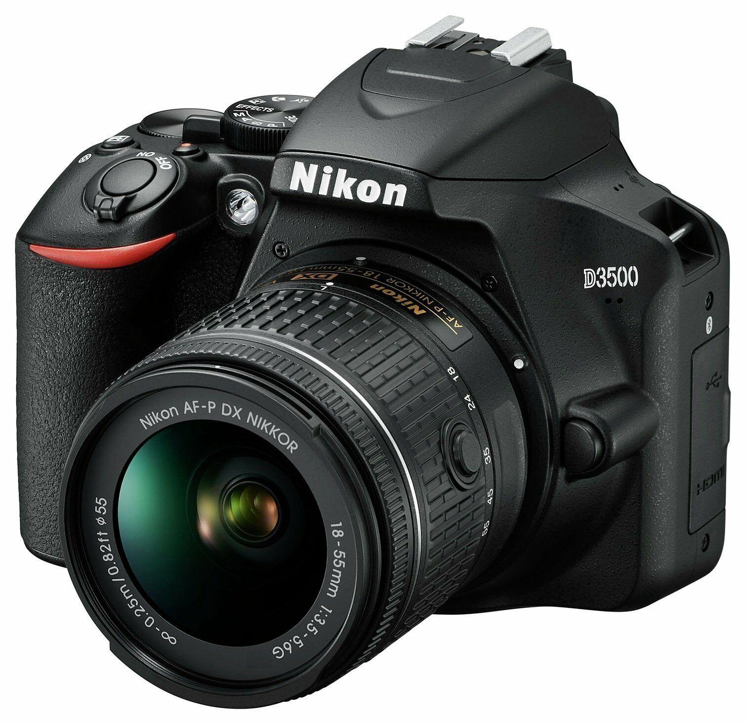Nikon D3500 DSLR Camera with AFP DX 18-55mm Lens - £265.50 at Argos/ebay-with code