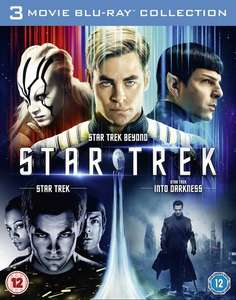 Star Trek/Star Trek Into Darkness/Star Trek Beyond (Box Set) [Blu-ray] £7.11 (£6.40 for new signups with code) @ Zoom - Free Delivery