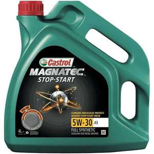 Castrol Magnatec 4L+1L FREE Stop-Start 5W-30+40 C2,C3,A5,A5/B4 Fully Synthetic at Opie Oils for £29.95 + £4.16 delivery