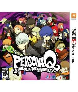 Persona Q: Shadow of The Labyrinth (3DS) £38.79 @ Base