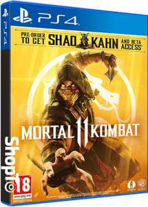 Mortal Kombat 11 ps4 for £32.85 Delivered @ Shopto