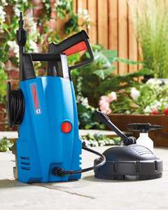 Compact Pressure Washer with Patio Cleaner £39.99 Delivered @ Aldi